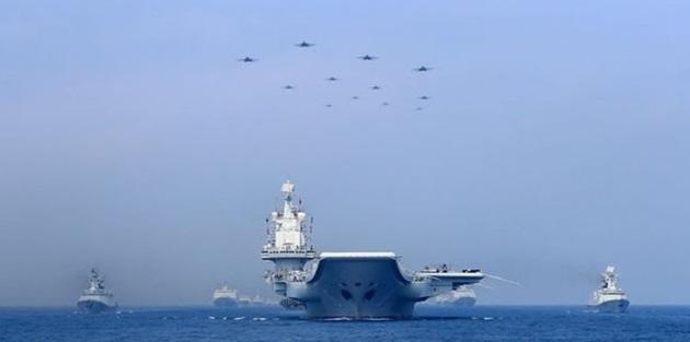 Çin'den ABD'ye uyarı, savaş gemileri gönderildi