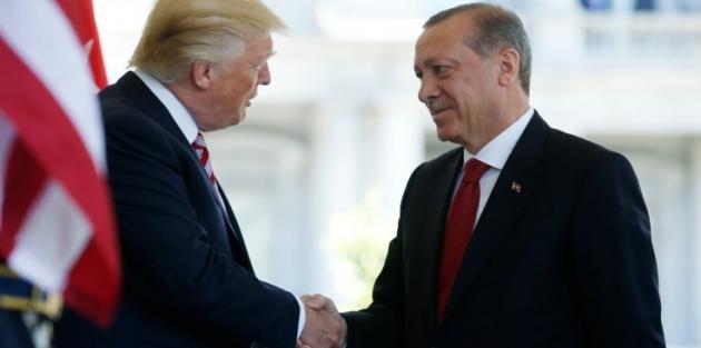 Cumhurbaşkanı Erdoğan, ABD Başkanı Trump'la görüştü