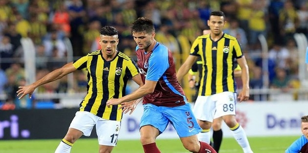 Dev maçta Trabzonspor ile Fenerbahçe puanları paylaştı
