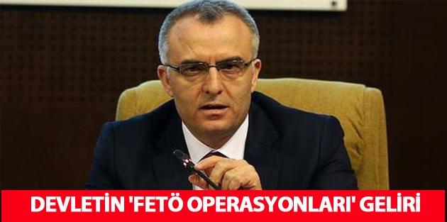 Devletin 'FETÖ operasyonları' geliri