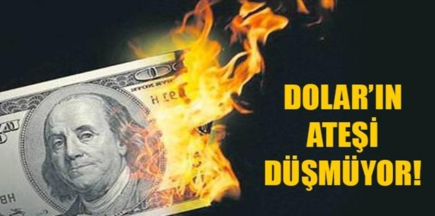 Dolardan Tarihi Rekor! 5,30 Seviyelerine Yükseldi