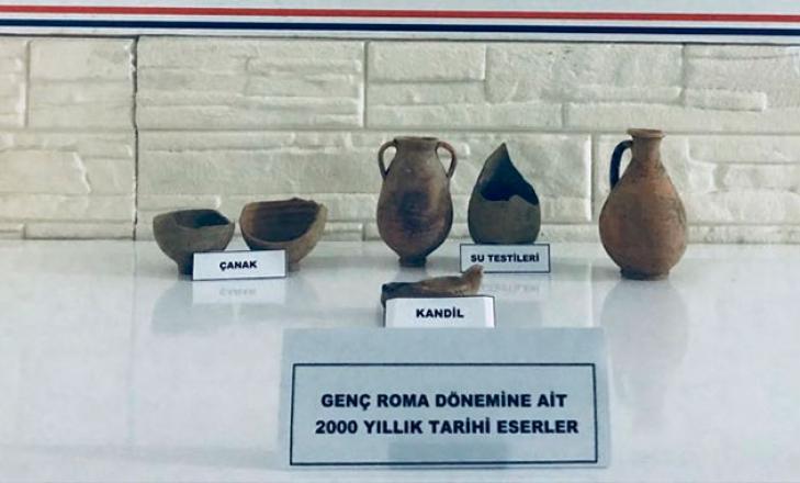Düzce'de 2 bin yıllık tarihi eserler ele geçirildi
