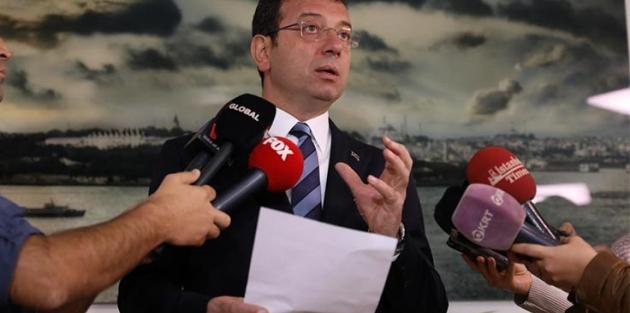 Ekrem İmamoğlu, Bakan Cahit Turhan'a yanıt verdi