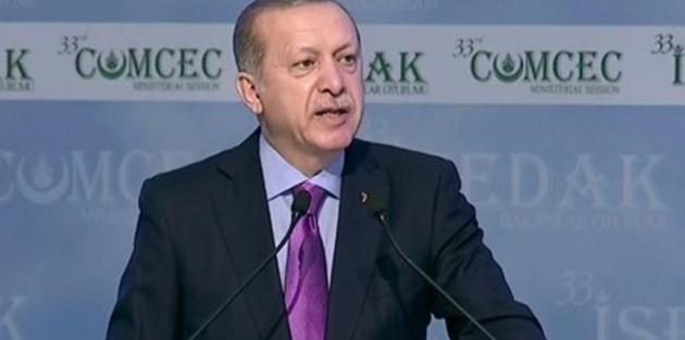 Erdoğan: Kaynaklar silah tüccarlarına peşkeş çekiliyor