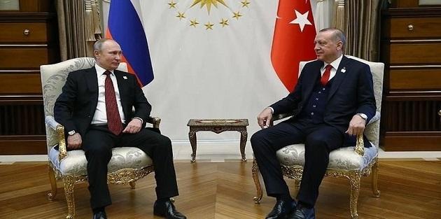 Erdoğan-Putin görüşmesi sona erdi