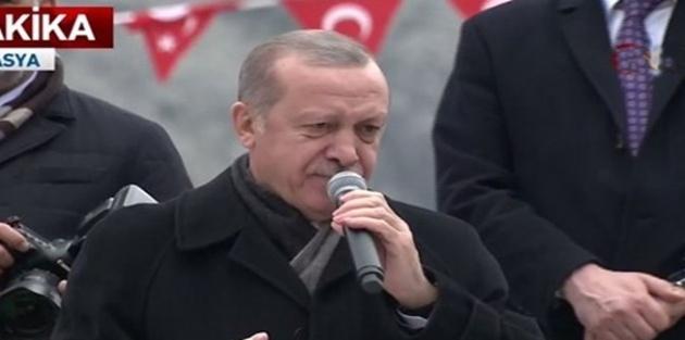 Erdoğan: Türkiye'deki Suriyeliler Afrin'e, İdlib'e dönecek
