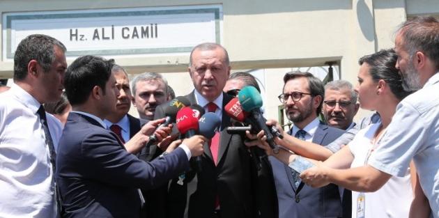 Erdoğan'ın yeni parti yanıtı: Çok dert etmiyoruz