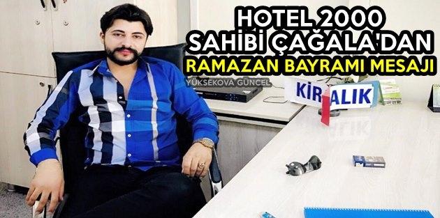 Esnaf Çağala'dan Ramazan Bayram Mesajı