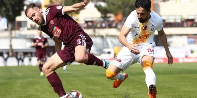Galatasaray Hatay'da dağılsa da yarı finalde!