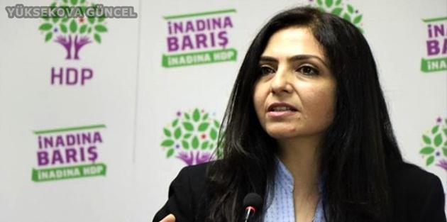 HDP'li Özgökçe'ye Eşbaşkanlık Soruşturması Başlatıldı