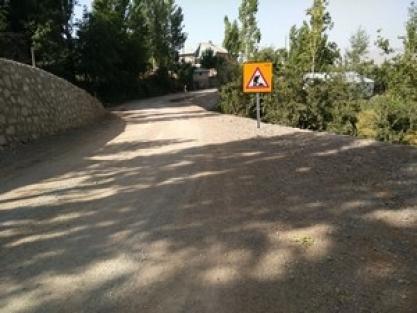 Hakkari'de birçok köy yolu asfaltlanıyor!