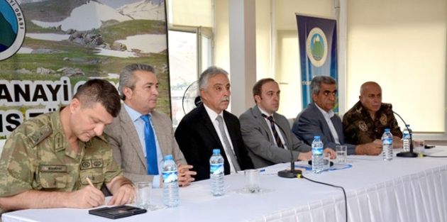 Hakkari'de 'İl Koordinasyon' Toplantısı