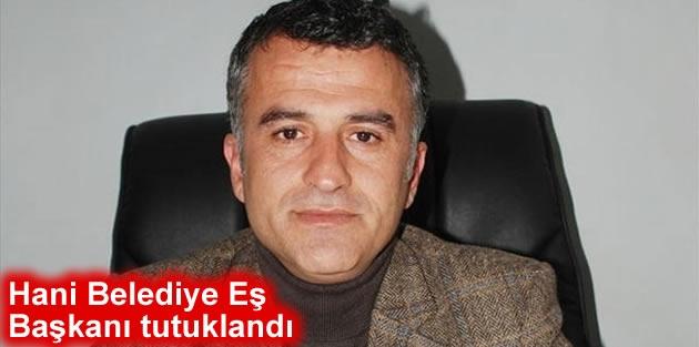 Hani Belediye Eş Başkanı tutuklandı