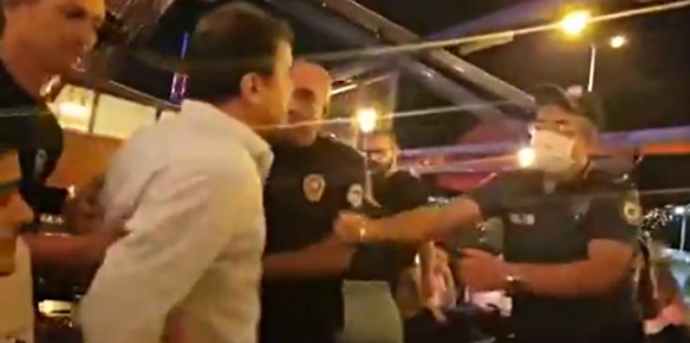 Hatay Baro Başkanı'na 'kimlik' gözaltısı