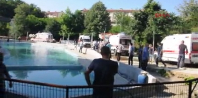 Havuzda akıma kapılan 5 kişi hayatını kaybetti