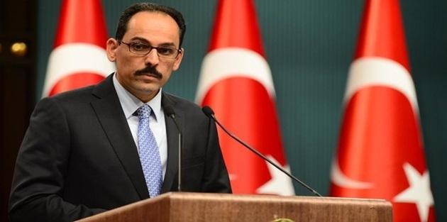 İbrahim Kalın: Afrin'in yüzde 70'inde güvenlik sağlandı