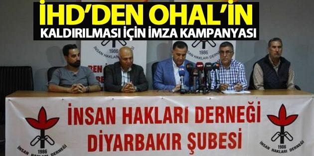 İHD'den OHAL'in kaldırılması için imza kampanyası
