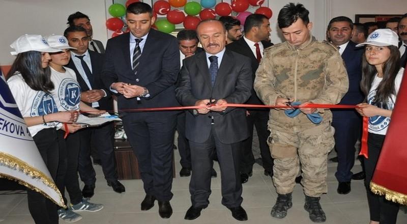 İlçe'de Tübitak 4006 Bilim Fuarı Açıldı