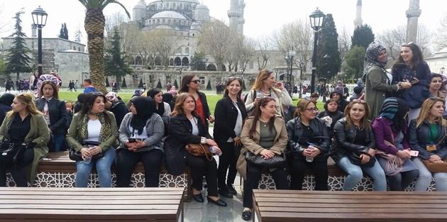 İlçenin kadınları İstanbul Gezisinden Döndü
