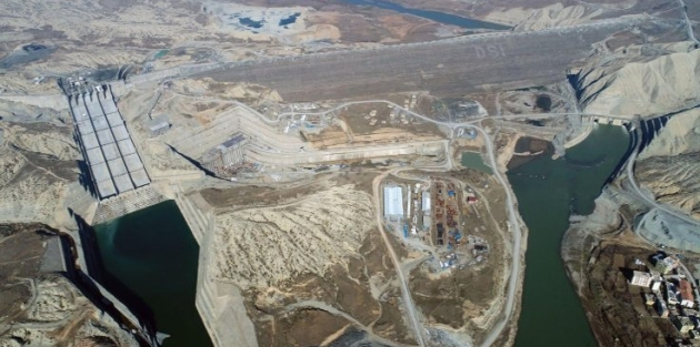 Ilısu Barajı'nda su tutma başlıyor