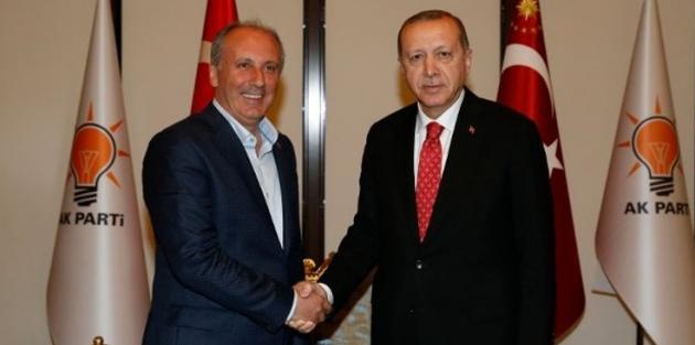 İnce'den Erdoğan'a 100 bin liralık dava!