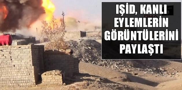 IŞİD, kanlı eylemlerin görüntülerini paylaştı