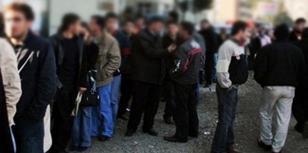 İşsizlik yüzde 13,5'e yükseldi