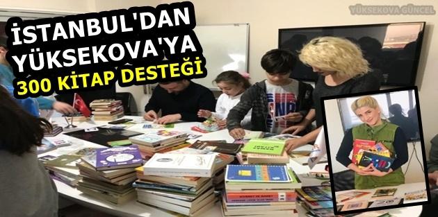 İstanbul'dan Yüksekova'ya 300 Kitap Desteği