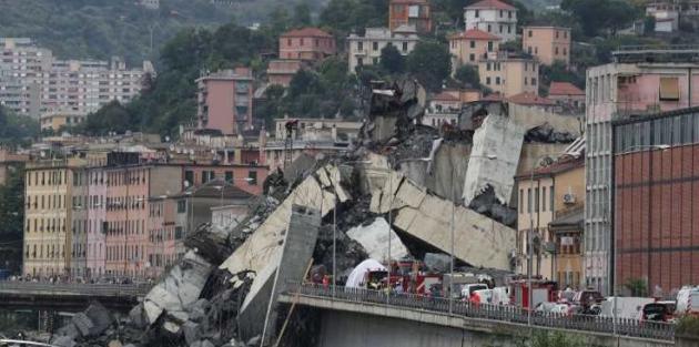 İtalya'da çöken köprü soruşturması: 40 kişi daha gözaltında
