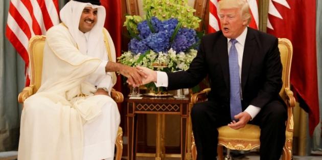 Katar Emiri'nden Trump'a ret