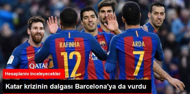 Katarlı Sponsorları Olan Barcelona'nın Hesaplarının İncelenmesi Talep Edildi