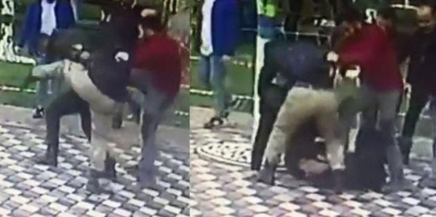 Kemik kıran saldırıda 2 polise gözaltı