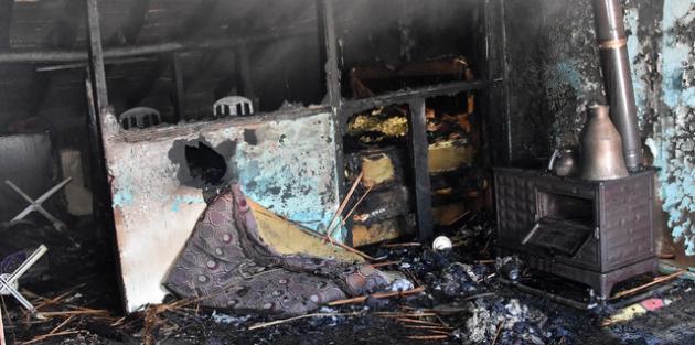 Konya'da facia! 4 çocuk yanarak can verdi
