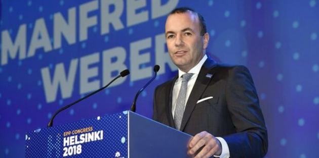 Manfred Weber: Seçilirsem Türkiye ile görüşmelere son vereceğim