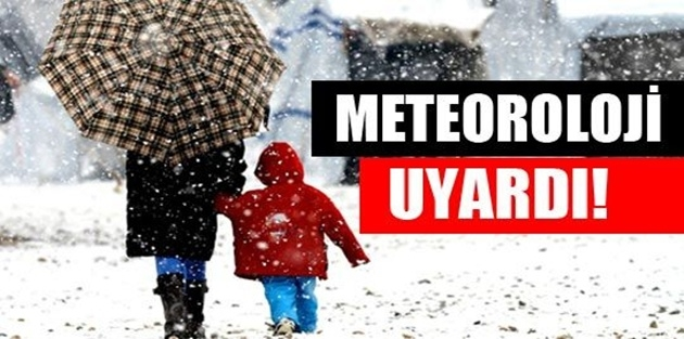 Meteoroloji'den Van ve Hakkari için kar uyarısı