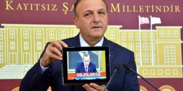 MHP'li Oktay Vural, Erdoğan'ın uçağında