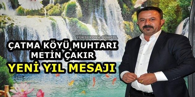Muhtar Çakır'dan Yeni Yıl Mesajı