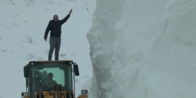 Muş'ta kar kalınlığı 5 metreyi buldu