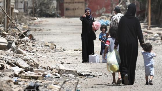 Musul'da kaçan sivillere saldırı! 7 ölü 23 yaralı