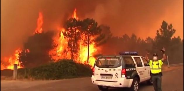 Portekiz'de yangın: 57 kişi öldü, köyler tahliye edildi