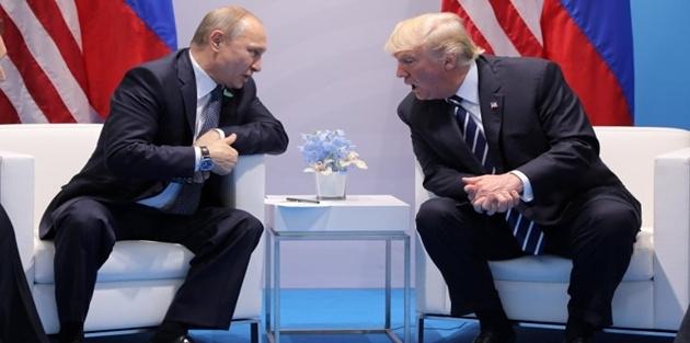 Putin ve Trump, Filistin-İsrail sorununu görüştü