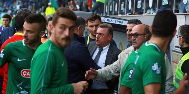 Rizespor, Galatasaray maçının tekrarlanması için TFF'ye başvuruyor