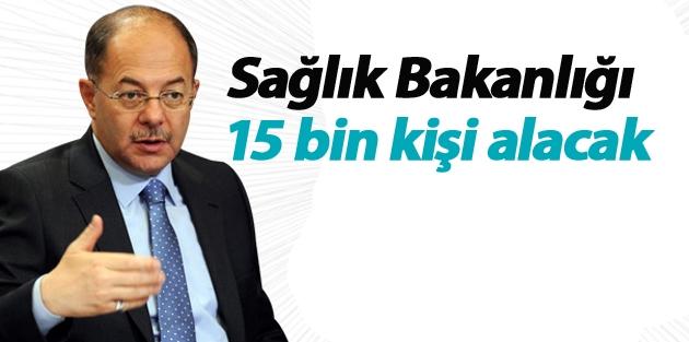 Sağlık Bakanlığı 15 bin kişi alacak