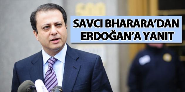 Savcı Bharara'dan Erdoğan'a yanıt
