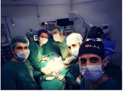 Şemdinli'de ilk defa kapalı rahim ameliyatı yapıldı