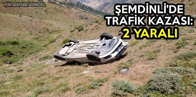 Şemdinli'de Trafik Kazası: 2 Yaralı