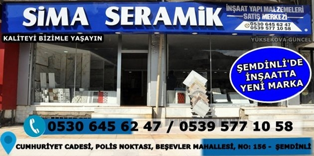 Sima Seramik - Şemdinli