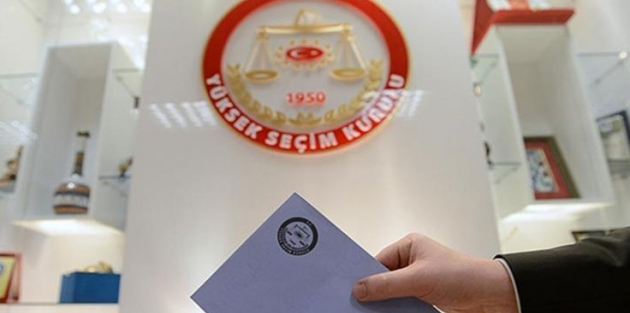 Soruşturma geçiren ilçe seçim kurulu başkanlarına görev