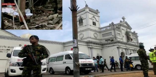 Sri Lanka'da üç kilise ve üç otel hedef alındı