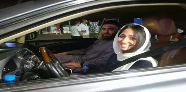 Suudi kadınlar ilk defa direksiyon başına geçti